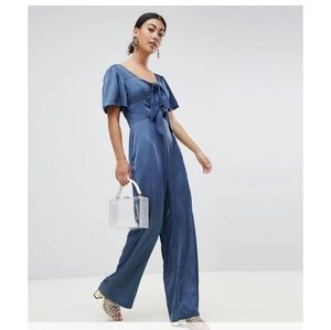 ASOS petite jumpsuit by Lost Ink
